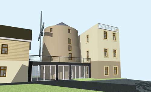 architekturb ro scholz umnutzung der saxoniam hle. Black Bedroom Furniture Sets. Home Design Ideas